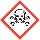 WHMIS pictogram skull and crossbones