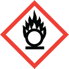WHMIS pictogram flame over circle