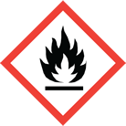 WHMIS pictogram flame