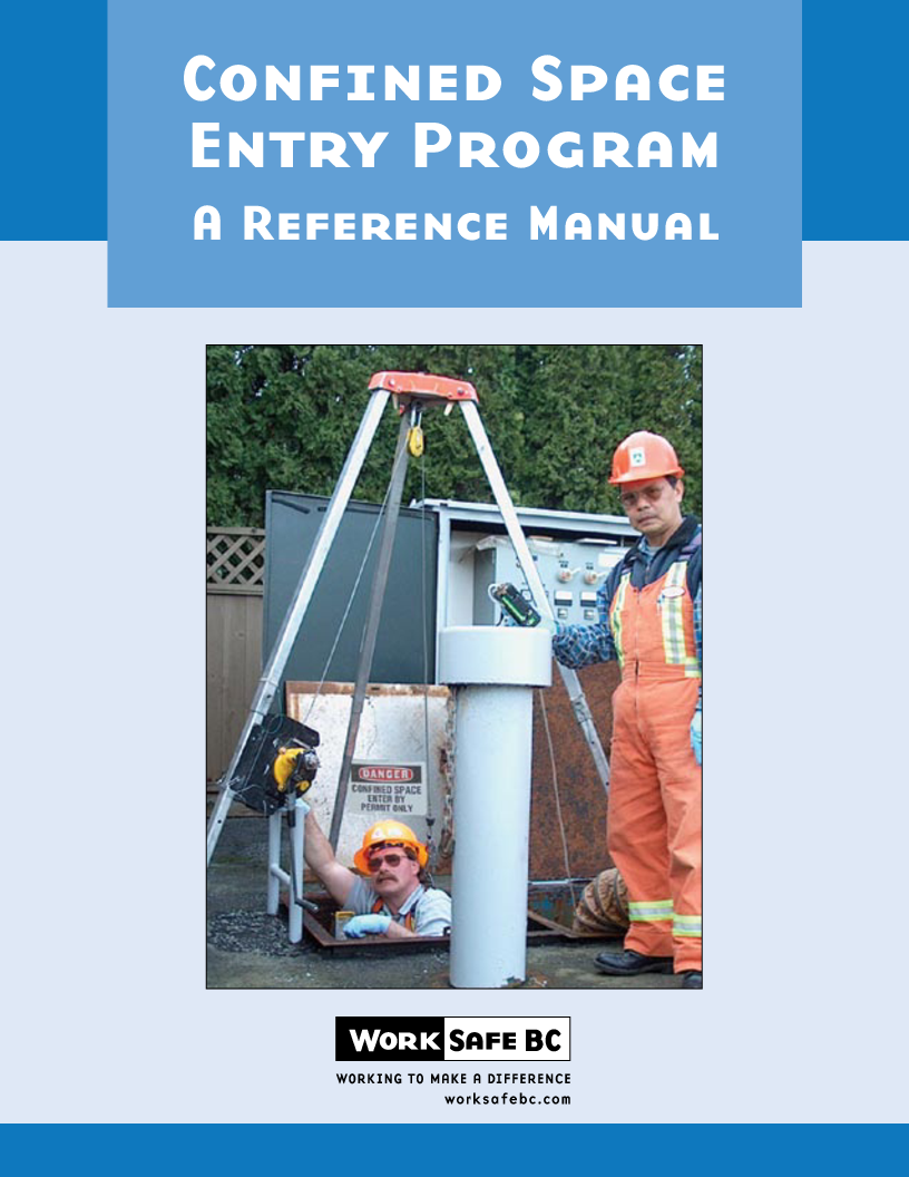 Worksafebc confined space entry program a reference manual pronofoot35fo Images