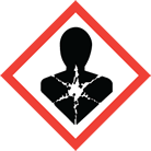 WHMIS pictogram health hazard