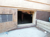 exterior entrance to crawl space