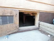 exterior crawl space entrance