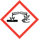 WHMIS pictogram corrosion
