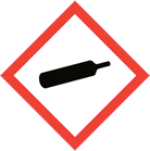 WHMIS pictogram gas cylinder