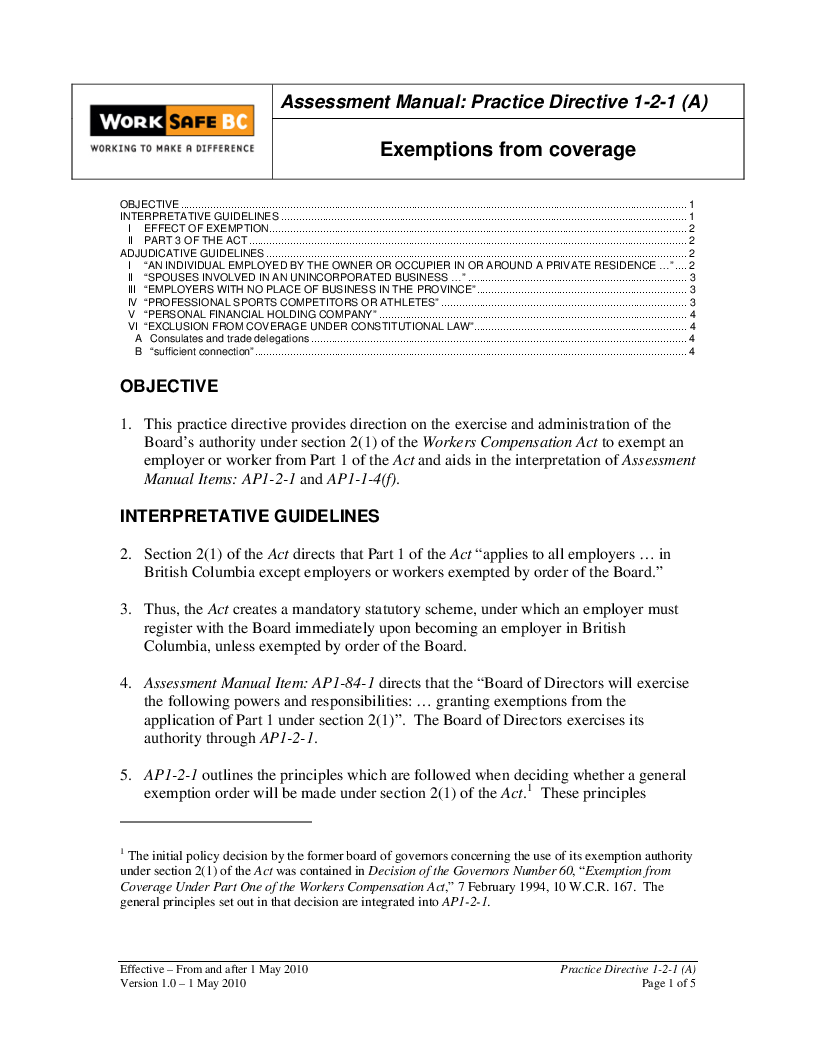 worksafebc cover letter