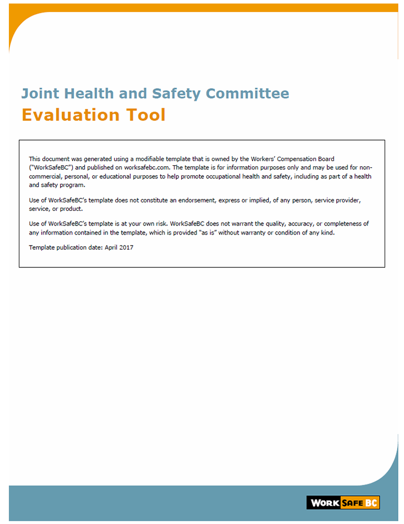 Joint health & safety committees - WorkSafeBC